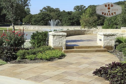 Custom Patios & Pavers by Red Valley Landscape & Construction in Austin, Texas