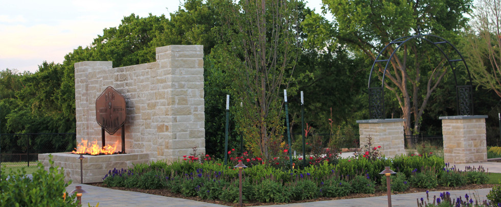 Landscape Design & Installation by Red Valley Landscape & Construction in Edmond Oklahoma