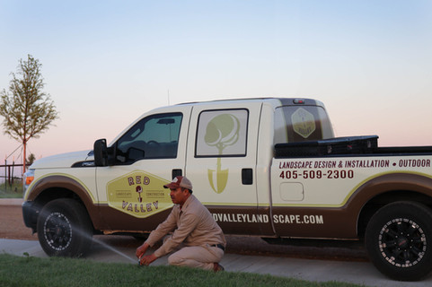 Irrigation & Drainage by Red Valley Landscape & Construction in North Austin