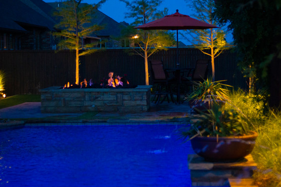 Landscape Lighting by Red Valley Landscape & Construction in Central Texas
