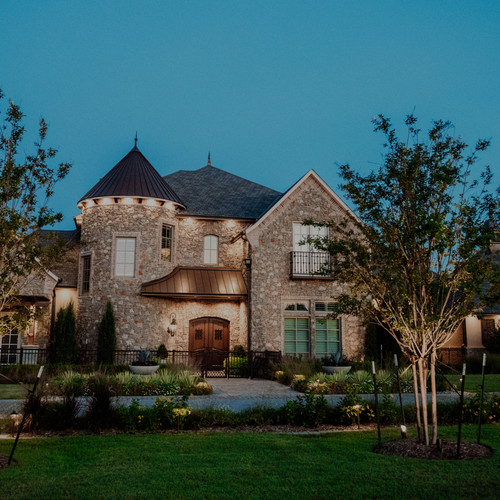 Landscape Lighting by Red Valley Landscape & Construction Edmond Oklahoma