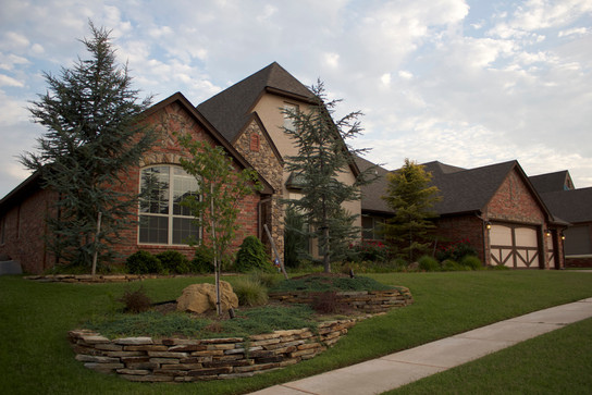 Landscape Design & Installation by Red Valley Landscape & Construction in Piedmont, Oklahoma