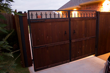 Custom Fences & Trellis by Red Valley Landscape & Construction in Round Rock, Texas