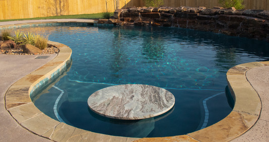 Custom Pools & Spas by Red Valley Landscape & Construction in Barton Creek, Texas
