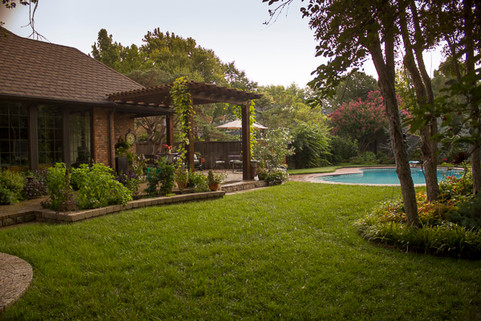 Residential Landscape Maintenance by Red Valley Landscape & Construction in Moore, Ok