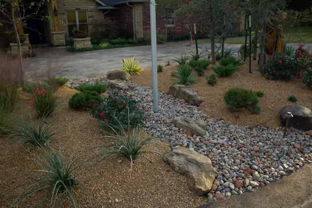 Irrigation & Drainage by Red Valley Landscape & Construction in Edmond, Ok