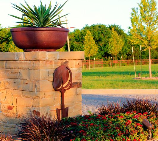 Custom Stonework & Masonry by Red Valley Landscape & Construction in Edmond, Ok