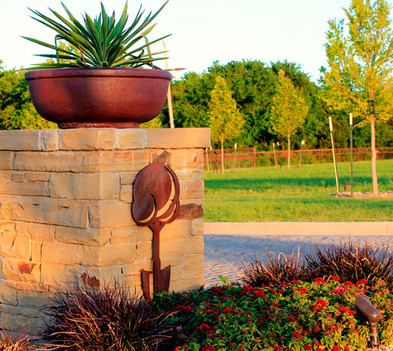 Custom Stonework & Masonry by Red Valley Landscape & Construction in West Lake Hills, Texas