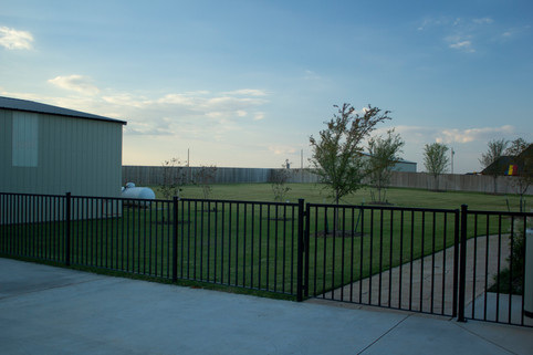 Custom Fences & Trellis by Red Valley Landscape & Construction in Elk City, Ok