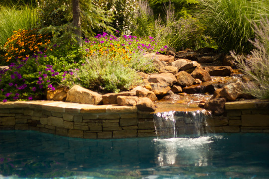 Landscape Design & Installation by Red Valley Landscape & Construction in Spicewood, Texas