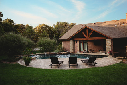 Custom Arbors & Pavilions by Red Valley Landscape & Construction in Enid, Ok