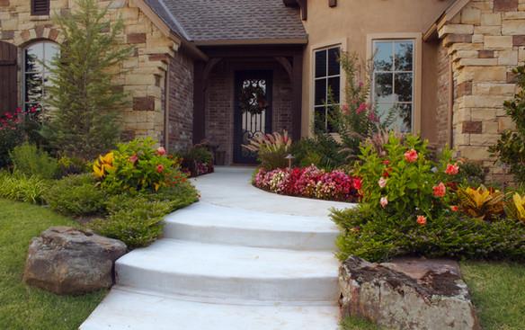 Landscape Design & Installation by Red Valley Landscape & Construction in West Lake Hills, TX