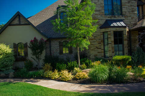 Landscape Design & Installation by Red Valley Landscape & Construction in Georgetown Texas