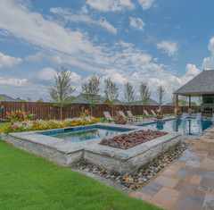 Custom Fire Pits & Fireplaces by Red Valley Landscape & Construction in Barton Creek, Texas