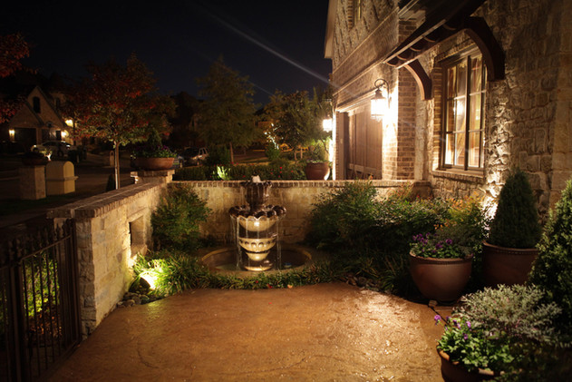 Landscape Lighting by Red Valley Landscape & Construction in Georgetown Texas