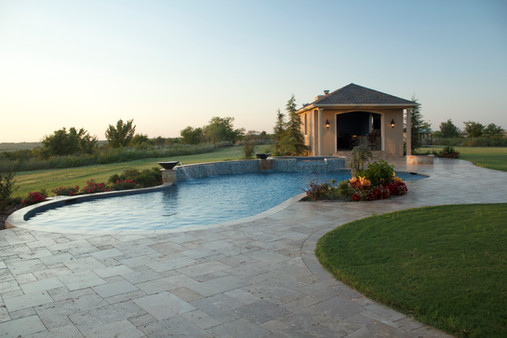 Custom Patios & Pavers by Red Valley Landscape & Construction in Bee Cave, Texas