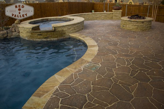 Custom Stonework & Masonry by Red Valley Landscape & Construction in Spicewood, Texas