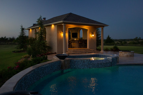 Custom Arbors & Pavilions by Red Valley Landscape & Construction in West Lake Hills, Texas
