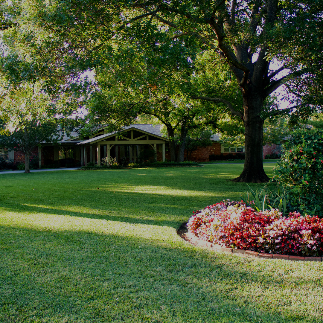 Residential Maintenance by Red Valley Landscape in Nichols Hills Oklahoma