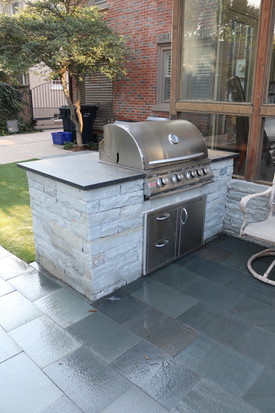 Custom Outdoor Kitchen by Red Valley Landscape & Construction in Bee Cave, Texas
