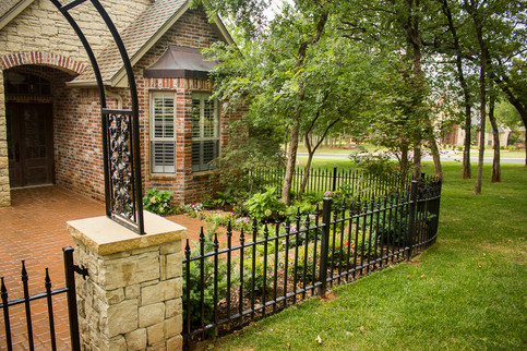 Custom Fences & Trellis by Red Valley Landscape & Construction in Oklahoma