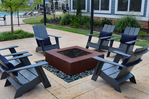 Custom Fire Pits & Fireplaces by Red Valley Landscape & Construction in OKC Metro