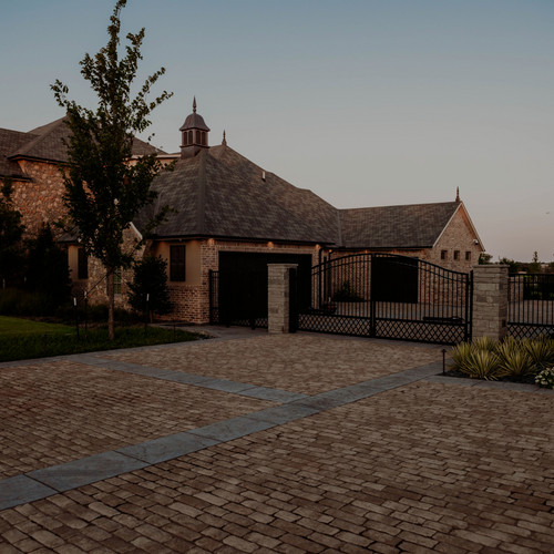 Patios & Pavers by Red Valley Landscape & Construction in Oklahoma