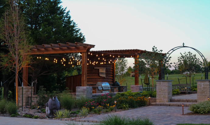Custom Arbors & Pavilions by Red Valley Landscape & Construction in Lakeway, Texas