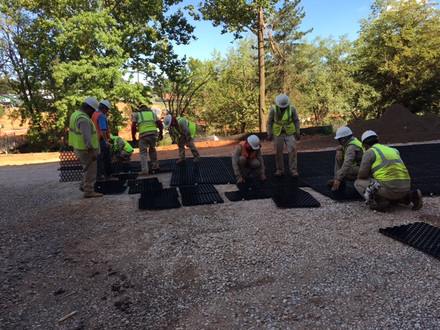 Commercial Hardscape & Construction by Red Valley Landscape & Construction in Norman, Ok