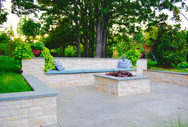 Custom Stonework & Masonry by Red Valley Landscape & Construction in Austin, T