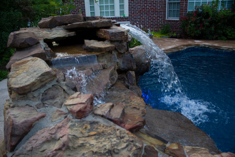 Custom Stonework & Masonry by Red Valley Landscape & Construction in The Village, Ok