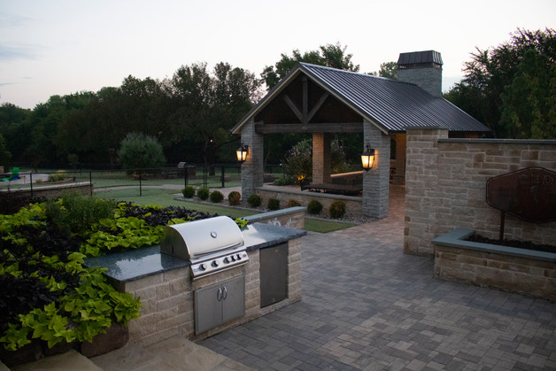 Custom Patios & Pavers by Red Valley Landscape & Construction in Lakeway, Texas