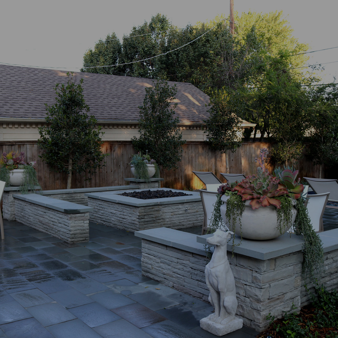 Custom Stonework & Masonry by Red Valley Landscape & Construction in North Austin, Texas