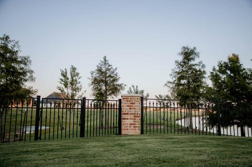 Custom Fences & Trellis by Red Valley Landscape & Construction in Deer Creek, Ok