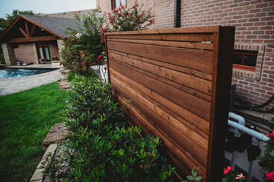 Custom Fences & Trellis by Red Valley Landscape & Construction in Enid, Ok