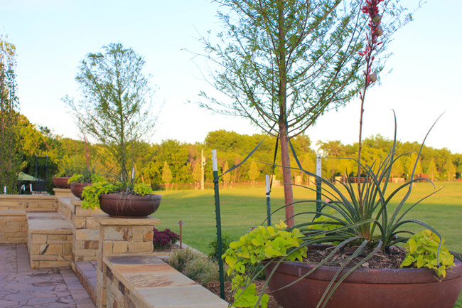 Commercial Seasonal Services by Red Valley Landscape & Construction in North Austin