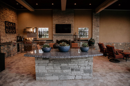 Custom Stonework & Masonry by Red Valley Landscape & Construction in Round Rock, Texas