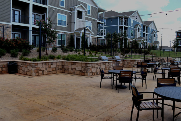 Commercial Hardscape & Construction by Red Valley Landscape & Construction in Oklahoma City