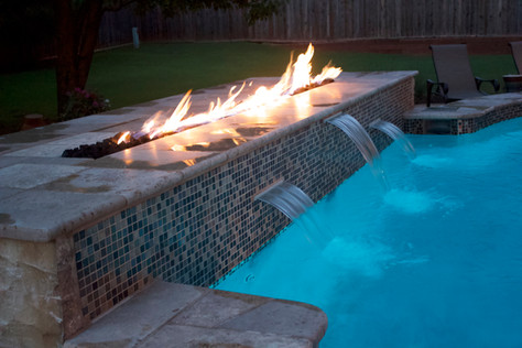 Custom Swimming Pools, Spas, and Wate Features by Red Valley Landscape & Construction located in Austin, Texas