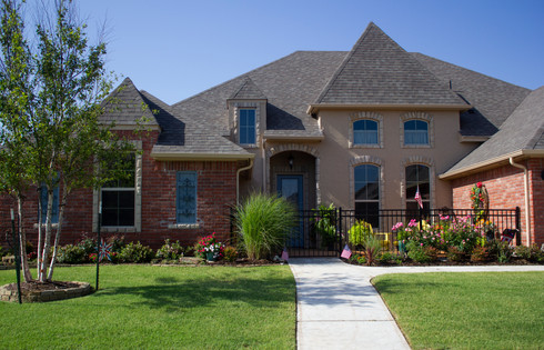 Residential Landscape Maintenance by Red Valley Landscape & Construction in Guthrie,