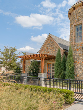 Custom Arbors & Pavilions by Red Valley Landscape & Construction in Georgetown, Texas