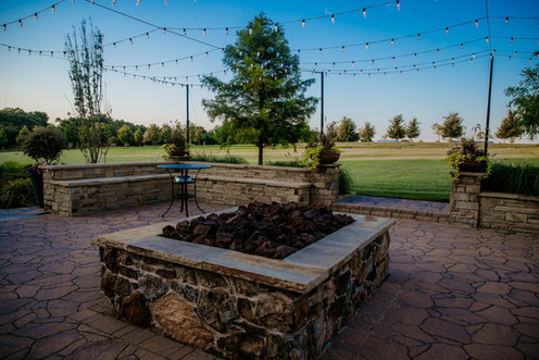 Custom Fire Pits & Fireplaces by Red Valley Landscape & Construction in Marshall Ford, Texas