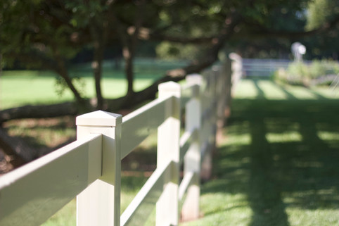 Custom Fences & Trellis by Red Valley Landscape & Construction in Briarcliff, Texas