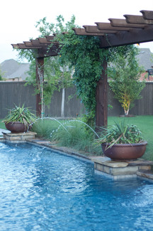Custom Fences & Trellis by Red Valley Landscape & Construction Austin, Texas