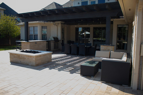 Custom Arbors & Pavilions by Red Valley Landscape & Construction in Cedar Park, Texas
