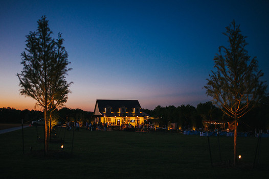 Commercial Landscape Lighting by Red Valley Landscape & Construction in Oklahoma