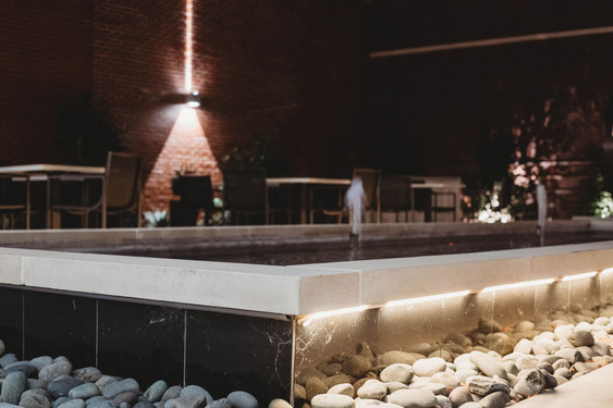 Custom Commercial Pools & Spas by Red Valley Landscape & Construction in OKC