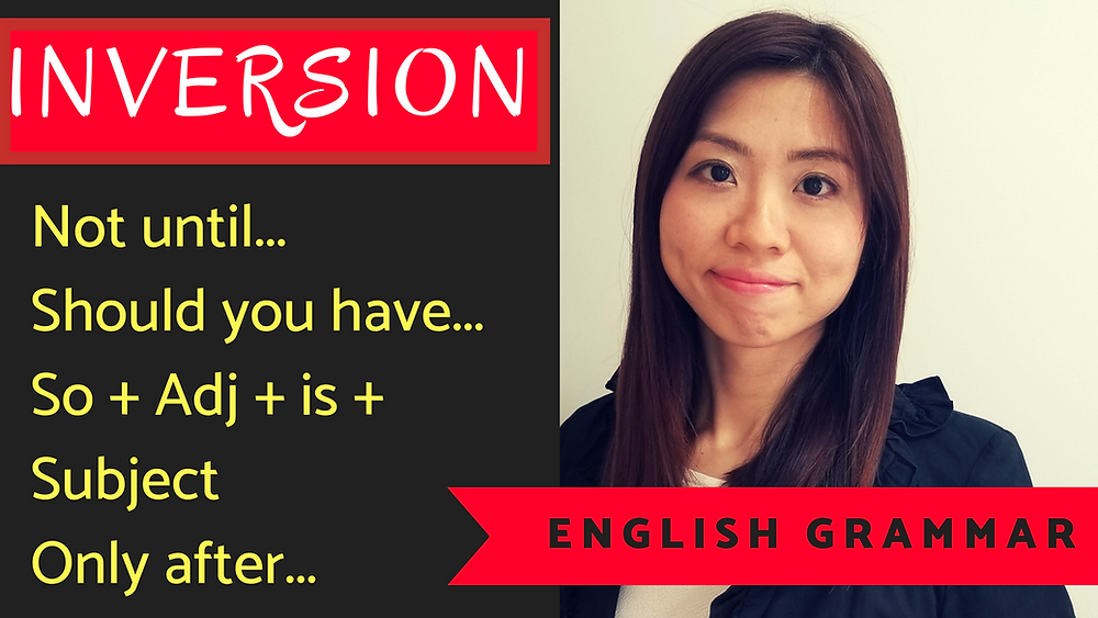 INVERSION ENGLISH