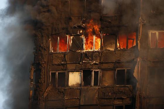 時事英語: 倫敦大火
