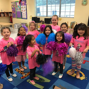 Hooray we love dance day and our pink WE